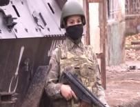 KADIN ASTSUBAY - Kadın askerler PKK'lılara göz açtırmıyor