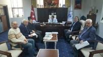 KAMIL SAKA - Balıkesir Milletvekili Ali Aydınlıoğlu Edremit Belediyesine Ve Baski Müdürlüğüne Ziyaretlerde Bulundu