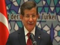 TÜRK İŞ ADAMI - Başbakan Davutoğlu Almanya'daki Türk iş adamlarına hitap etti