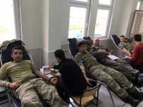 ALI ERDOĞAN - Besni Jandarmadan Kan Bağışı