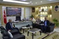 EKREM BALLı - Bilecik Vali Yardımcılarından Vezirhan Belediye Başkanı Duymuş'a Ziyaret