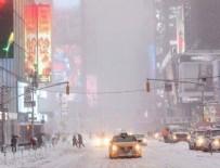 KAR FIRTINASI - ABD'yi kar fırtınası vurdu