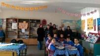 KARADIĞIN - Güvenlik Ortaokulu Öğrencilerinden Köy Okullarına Kültürel Destek