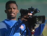 SAMUEL ETOO - Antalyaspor'un neşe kaynağı Samuel ETO'o