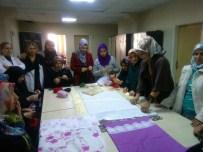 BEYAZ AY DERNEĞI - Ergani'de 25 Dezavantajlı Kadın Meslek Sahibi Oldu