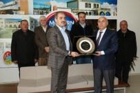 Osman Yılmaz'dan Başkan Dinç'e Teşekkür Ziyareti