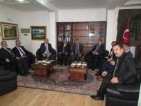 İNCE ÇİZGİ - Yargıtay Cumhuriyet Başsavcısı Ve Adalet Akademisi Başkanı Sandıklı Kaymakamlığını Ziyaret Etti