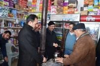 AKMESCIT - Başkan Gülcüoğlu Mahalle Ve Esnaf Ziyaretlerine Devam Ediyor