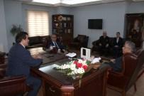 GÜMRÜK MÜDÜRÜ - Gümrük Müdürlüğü Çalışanlarından Kaymakam Demir'e Ziyaret