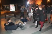 KAZIM ÖZALP - CHP Gençlik Kollarından Mizansenli Tecavüz Eylemi