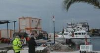 Botları Patlayan Göçmenler Denize Düştü