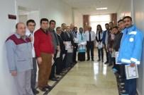 DENIZ ZEYREK - Hastane Çalışanlarına Başarı Belgesi Verildi
