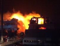 YANGIN FACİASI - Marinada yangın dehşeti