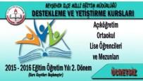 İMAM HATİP ORTAOKULLARI - Beyşehir'de Destekleme Ve Yetiştirme Kursları