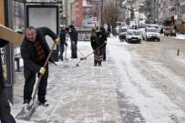 ERCAN ÇİMEN - Gümüşhane'de Kar Vatandaşa Çile Olmadı