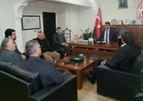 HALIL KARA - Başkan Gökce'den Mektepli'ye Ziyaret