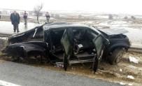 Yozgat'ta Trafik Kazası Açıklaması 5 Yaralı