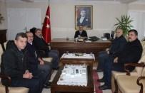 ALI ERDOĞAN - Öz Orman İş'ten Kaymakam Erdoğan'a Ziyaret