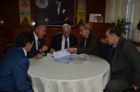 SUAT YıLDıZ - Alaçam Belediyesi'nde Toplu Sözleşme