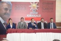 MECLIS BAŞKANı - AK Parti Kırıkkale İl Danışma Meclisi Toplandı