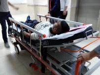 KıŞLA - Bıçakla Kendini Ağır Yaralandı