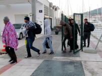 ALTıNKUM - Ege'de Dört Ayrı Operasyonla 202 Sığınmacı Yakalandı