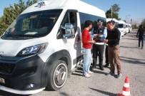 EMNIYET MÜDÜRLÜĞÜ - Ereğli'de Servis Minibüsleri Denetlendi