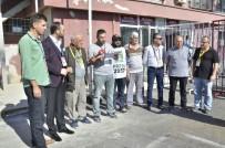 NAMIK HAVUTÇA - Gazeteciler 'Zulüm Merdivenine' Tepki Gösterdi