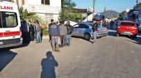 SANAYİ SİTESİ - Kaza Yapan Ehliyetsiz Sürücü Yaralandı