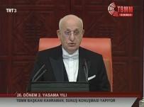 MECLIS BAŞKANı - 'Öncelikli Konularımızdan Biri Sivil Anayasa'