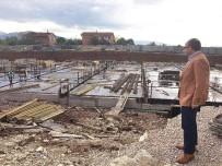 Üzülmez, Yeni Hizmet Binası İnşaatını İnceledi