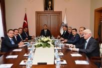 TERÖR ÖRGÜTÜ - Vali Toprak Belediye Başkanları İle Bir Araya Geldi