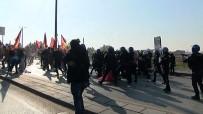 SELAHATTİN DEMİRTAŞ - Ankara'da polise taşla saldıran gruba müdahale