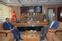 ASKF Başkanı Turan'dan Başkan Yılmaz'a Ziyaret