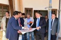 NİKAH SARAYI - Başkan Çakır Turizm Cazibe Merkezinde İnceleme Yaptı