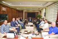 ARNAVUTLUK - Başkan Çerçi Makedon Heyeti Ağırladı