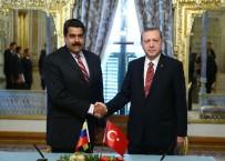 VENEZUELA - Cumhurbaşkanı Erdoğan, Venezuela Devlet Başkanı Maduro İle Görüştü