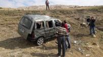 Haymana'da Otomobil Şarampole Yuvarlandı Açıklaması 5 Yaralı