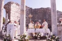 MERYEM ANA - Hristiyanların Bayramı Meryem Ana Kilisesi'nde Kutlandı