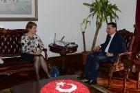 ERCAN TOPACA - İsrail Büyükelçiliği Maslahatgüzarı Oron'dan Ankara Valisi Topaca'ya Ziyaret