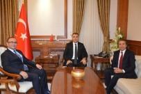 ULAŞTıRMA BAKANLıĞı - Karayolları Genel Müdürü Kartal Vali Toprak'ı Ziyaret Etti
