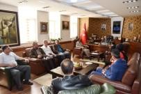 Kartepe Kızılay'dan Başkan Üzülmez'e Ziyaret