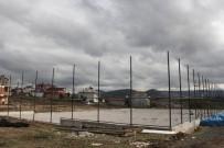 KAVAKLı - Kavak'ta Halı Saha Çalışmaları Hız Kazandı