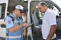 EMNIYET KEMERI - Mersin'de Servis Araçları Denetleniyor