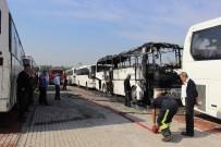 METRO İSTASYONU - Onlarca Otobüs Kül Olacaktı !