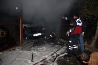 HASAN POLATKAN - Safranbolu'da Garaj Yangını