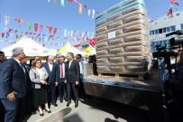 AHMET ÇELIK - Türkiye'nin Hububat Deposu Gazinatep'te Çiftçiye Tohum Desteği