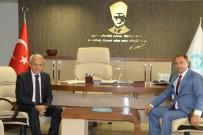 KURUÇAY - Ulaşım Daire Başkanı Coşkun'u Ziyaret Etti