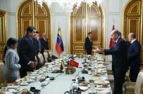 VENEZUELA - Venezuela Devlet Başkanıyla Çalışma Kahvaltısı