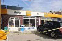 SELAHADDIN EYYUBI - AK Partili Başkanın Saldırıya Uğrada Petrol İstasyonu, Güvenlik Şeridi İle Kapatıldı